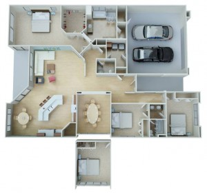 plan2238-interior-view